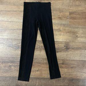 Zara black ribbed pants